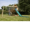 Outdoor Toys TP Kingswood2 Tower and Swing Arm (with 1 TP Deluxe Swing seat and 1 TP Quadpod2) - FSC