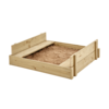 Outdoor Toys TP Wooden Lidded Sandpit - FSC®
