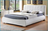 Beds  - Dorado White - Super Kingsize Bed