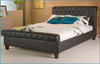 Beds Pheonix Black - Super Kingsize Bed