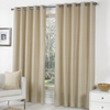 Home Accessories Bonne Eyelet Curtain - Natural / 137cm / 168cm