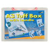 Arts & Crafts Tuff Handle Clear Box