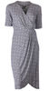 Nancy Dee Elizabeth Waves Wrap Dress