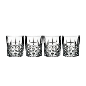 Marquis Brady Double Old Fashioned (Set of 4)