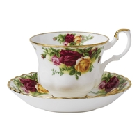 Old Country Roses Teacup and Saucer Set