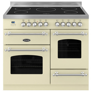 Cookers & Ovens  - Britannia RC10XGIFLCR 100cm Fleet XG Induction Twin Oven Range Cooker