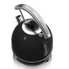 Electric Kettles Swan SK34021BN 1 7 Litre Retro Dome Kettle in Black 3 0 kW Rapid Boil