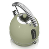 Electric Kettles Swan SK34021GN 1 7 Litre Retro Dome Kettle in Green 3 0 kW Rapid Boil