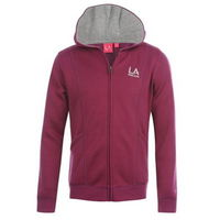 LA Full Zip Hoody Girls