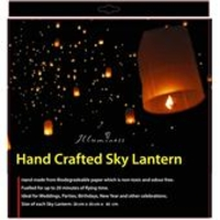 Decorations  - Illuminess Hand Crafted Sky Lantern
