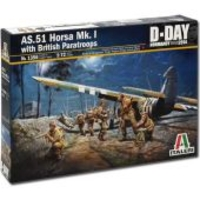 - Italieri Raf As51 Horsa Mk1 11 & Brit ParaModel Kit