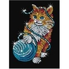 Arts & Crafts KSG Sequin Art Original Kitten