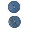 Vogue Star 30mm Two Hole Nut Button In Blue