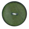 Vogue Star 30mm Two Hole Nut Button In Green