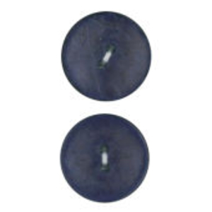 Vogue Star 30mm Two Hole Nut Button In Navy