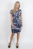 Women's Clothing Orchid And Bamboo Print Tailored Dress