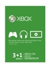 Xbox Live Gold Membership 3+1 month