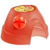 Living World Dome Medium Hamster Hideaway Red