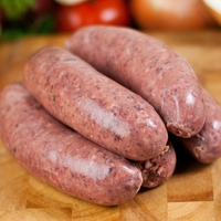 Meat, Poultry & Fish  - Gluten Free Pork and Black Pudding Sausages
