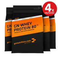 Diet  - GN Whey Protein 80™ Four Pack 500g