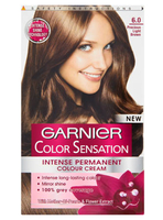 Garnier Color Sensation Intense Permanent Colour Cream 6.0 Precious light Brown