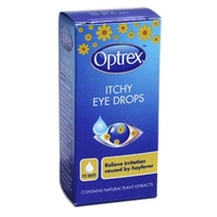 Vitamins & Supplements  - Optrex Soothing Eye Drops for Itchy Eyes 10ml