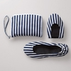 Nautical Stripe Fold­up Shoes