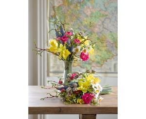 Spring Bouquet and Dartington Vase