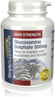 Vitamins & Supplements  - Glucosamine Sulphate 500mg