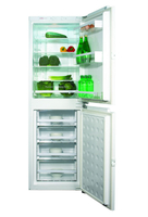Fridge Freezers  - CDA FW951 55cm Wide Integrated Combination 50/50 Frost Free Fridge Freezer in White