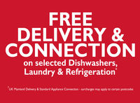 Accessories  - Delivery & Connection on sel. Laundry, Dishwashers and Refrigeration
