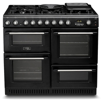 Cookers & Ovens  - Hotpoint Cannon CH10456GFS 1000 FSD Dual Fuel Range Cooker Anthracite