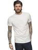 Men's Tops ETO Clearance  | Designer Mens Ecru Point T-Shirt | Free UK Delivery