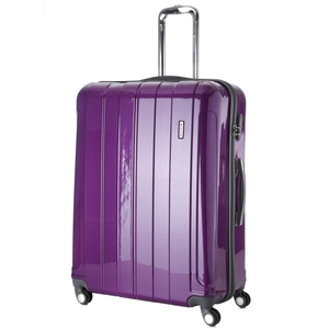 Aerolite PCF525 Hardshell Travel Luggage Suitcases 26&8243; (PURPLE)