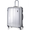Aerolite PCF525 Hardshell Travel Luggage Suitcases 26&8243; (SILVER)