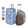 Frenzy Printed Travel Suitcase Luggage (18-32&8243;)