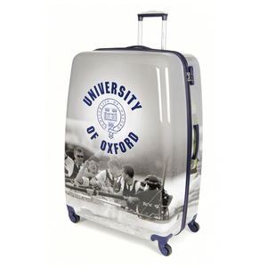 Variation 3640 of Oxford Lightweight Hard shell Travel Luggage Suitcase- 4 Wheel Spinner Trolley Bag(21-29&8243;)