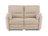 Sofas Sutton Medium Sofa with Manual Recliners in Barley Beige