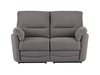 Sofas Sutton Medium Sofa with Manual Recliners in Barley Grey