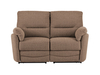 Sofas Sutton Medium Sofa with Manual Recliners in Barley Mocha