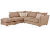 Sofas Zest High Back Corner Combi Sofa Right Hand in Graceland Taupe