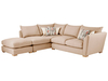 Sofas Zest High Back Corner Combi Sofa Right Hand in Sweet Barley