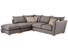 Sofas Zest High Back Corner Combi Sofa Right Hand in Sweet Charcoal