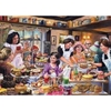 Games, Puzzles & Learning Ye Olde Tea Shoppe Jigsaw Puzzle