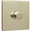 Fantasia LED Lighting Dimmer Wall Control - Polished Brass