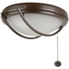 Fantasia Patio Ceiling Fan Halogen Lighting - Chocolate Brown