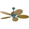 Fantasia Wicker 48in. Ceiling Fan w/Pull Cord without Light - Chocolate Brown