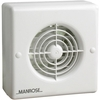 "Manrose 100mm (4"") Standard Automatic Extractor Fan"