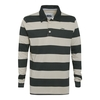 Ramble Striped Long Sleeve Rugby Top Dark Shadow
