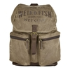 Women's Accessories Weird Fish Arcus Waxed Back Pack Bark Size ONE